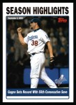 2004 Topps #336   -  Eric Gagne  Highlights Front Thumbnail