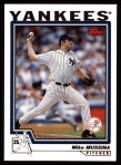 2004 Topps #221  Mike Mussina  Front Thumbnail