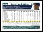 2004 Topps #622  Quinton McCracken  Back Thumbnail