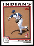 2004 Topps #168  Brandon Phillips  Front Thumbnail