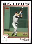 2004 Topps #635  Craig Biggio  Front Thumbnail