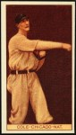 1912 T207 Reprint  Leonard Cole  Front Thumbnail