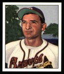 1950 Bowman REPRINT #109  Sid Gordon  Front Thumbnail