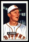 1951 Bowman REPRINT #281  Al Widmar  Front Thumbnail