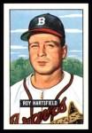 1951 Bowman REPRINT #277  Roy Hartsfield  Front Thumbnail