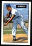 1951 Bowman REPRINT #155  Lou Brissie  Front Thumbnail