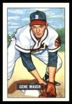 1951 Bowman REPRINT #312  Gene Mauch  Front Thumbnail