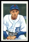 1951 Bowman REPRINT #319  Red Rolfe  Front Thumbnail