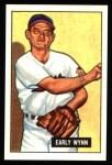 1951 Bowman REPRINT #78  Early Wynn  Front Thumbnail