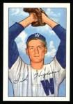 1952 Bowman REPRINT #123  Sid Hudson  Front Thumbnail