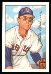 1952 Bowman REPRINT #205  Walt Masterson  Front Thumbnail