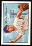 1952 Bowman REPRINT #166  Bobby Adams  Front Thumbnail