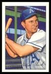 1952 Bowman REPRINT #130  Allie Clark  Front Thumbnail