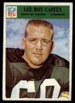 1966 Philadelphia #81  Lee Roy Caffey  Front Thumbnail