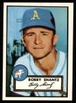 1952 Topps REPRINT #219  Bobby Shantz  Front Thumbnail