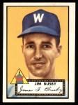 1952 Topps REPRINT #309  Jim Busby  Front Thumbnail