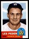 1953 Topps Archives #256  Les Peden  Front Thumbnail