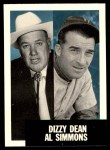 1953 Topps Archives #326  Dizzy Dean / Al Simmons  Front Thumbnail