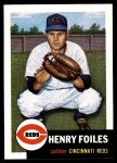 1953 Topps Archives #252  Hank Foiles  Front Thumbnail