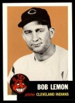 1953 Topps Archives #284  Bob Lemon  Front Thumbnail