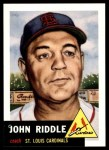 1953 Topps Archives #274  John Riddle  Front Thumbnail