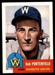 1953 Topps Archives #108  Bob Porterfield  Front Thumbnail