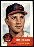 1953 Topps Archives #80  Jim Hegan  Front Thumbnail