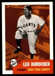 1953 Topps Archives #309  Leo Durocher  Front Thumbnail