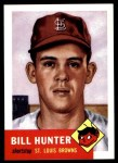1953 Topps Archives #166  Billy Hunter  Front Thumbnail