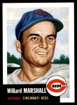 1953 Topps Archives #95  Willard Marshall  Front Thumbnail