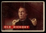 1956 Topps Davy Crockett Green Back #5   Old Hickory  Front Thumbnail