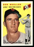 1954 Topps Archives #42  Don Mueller  Front Thumbnail