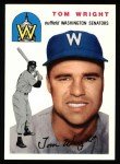 1954 Topps Archives #140  Tom Wright  Front Thumbnail