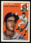 1954 Topps Archives #84  Dick Cole  Front Thumbnail