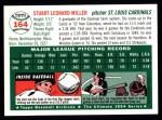 1954 Topps Archives #164  Stu Miller  Back Thumbnail