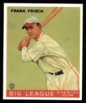 1933 Goudey Reprint #49  Frankie Frisch   Front Thumbnail