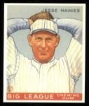 1933 Goudey Reprint #73  Jesse Haines  Front Thumbnail
