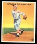 1933 Goudey Reprint #129  Hal Schumacher  Front Thumbnail