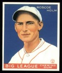 1933 Goudey Reprint #173  Roscoe Holm  Front Thumbnail