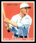1933 Goudey Reprint #182  Andy High  Front Thumbnail