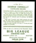 1933 Goudey Reprint #27  George Connally  Back Thumbnail