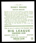 1933 Goudey Reprint #69  Randy Moore  Back Thumbnail