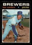 1971 O-Pee-Chee #116  Ken Sanders  Front Thumbnail