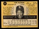 1971 O-Pee-Chee #373  Tom McCraw  Back Thumbnail