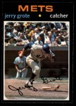 1971 O-Pee-Chee #278  Jerry Grote  Front Thumbnail
