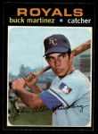 1971 O-Pee-Chee #163  Buck Martinez  Front Thumbnail