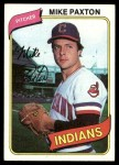 1980 Topps #388  Mike Paxton  Front Thumbnail