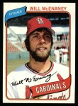 1980 Topps #563  Will McEnaney  Front Thumbnail