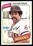 1980 Topps #99  Victor Cruz  Front Thumbnail