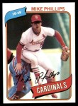 1980 Topps #439  Mike Phillips  Front Thumbnail